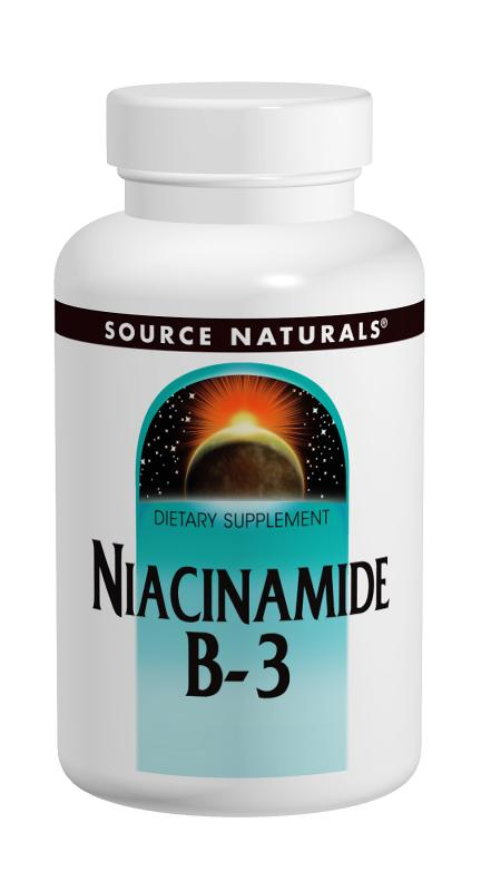 SOURCE NATURALS: Niacinamide 1500 mg Timed Release 100 tabs