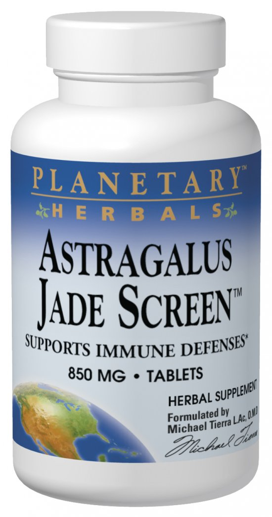 PLANETARY HERBALS: Astragalus Jade Screen 50 tabs