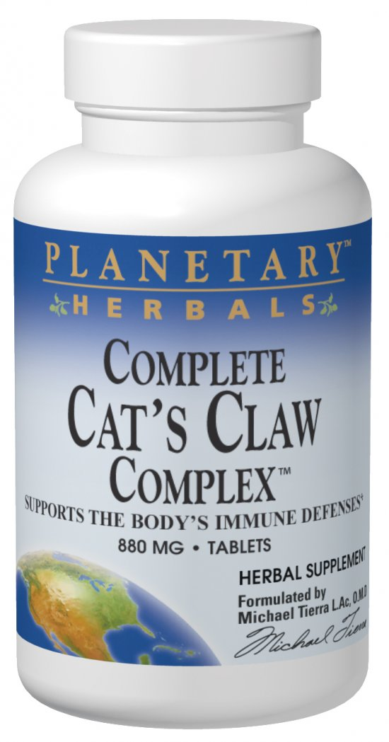 PLANETARY HERBALS: Complete Cat's Claw Complex 42 tabs