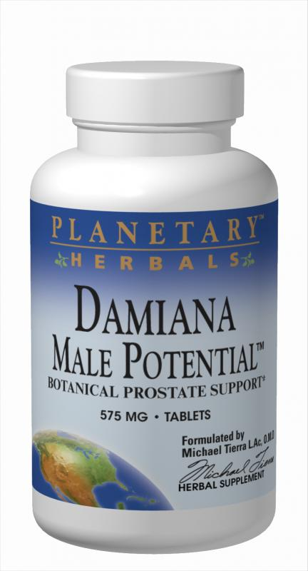 Damiana Male Potential Dietary Supplements
