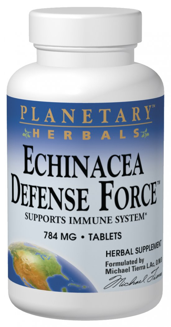 Echinacea Defense Force 90 tabs from PLANETARY HERBALS