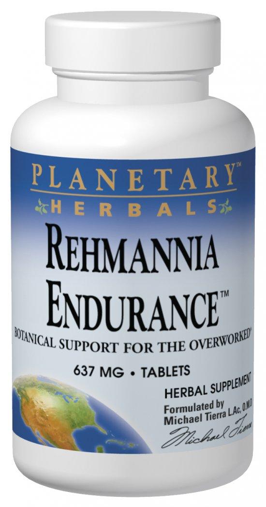 PLANETARY HERBALS: Rehmannia Endurance 75 tabs