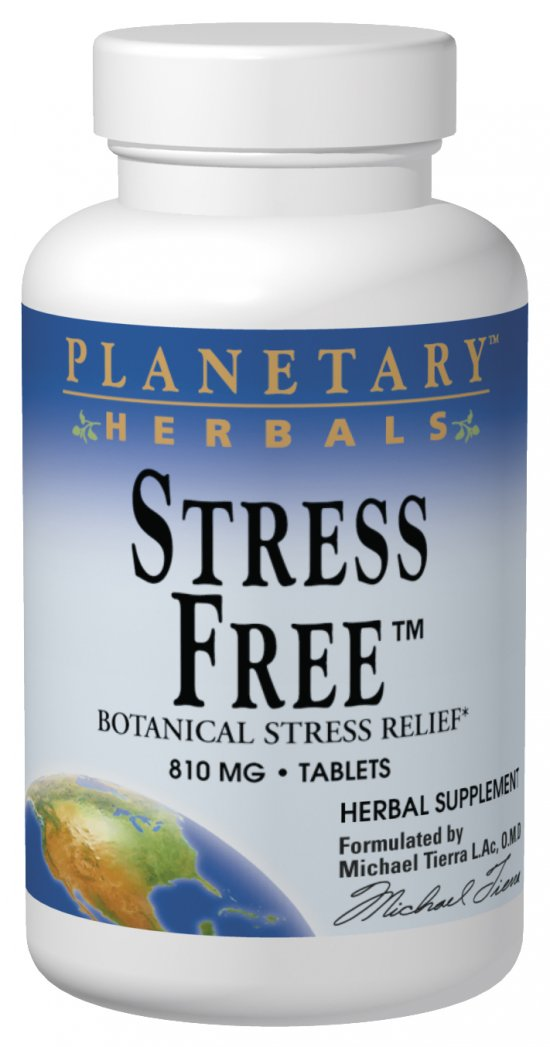 PLANETARY HERBALS: Stress Free 810mg 180 tabs