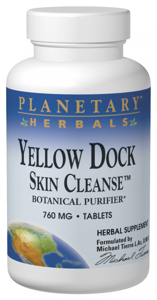 Yellow Dock Skin Cleanse, 60 tabs
