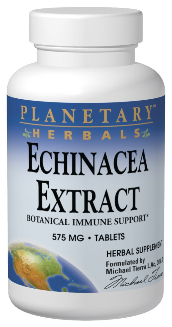 PLANETARY HERBALS: Echinacea Extract 575mg With  Plan 42 tabs
