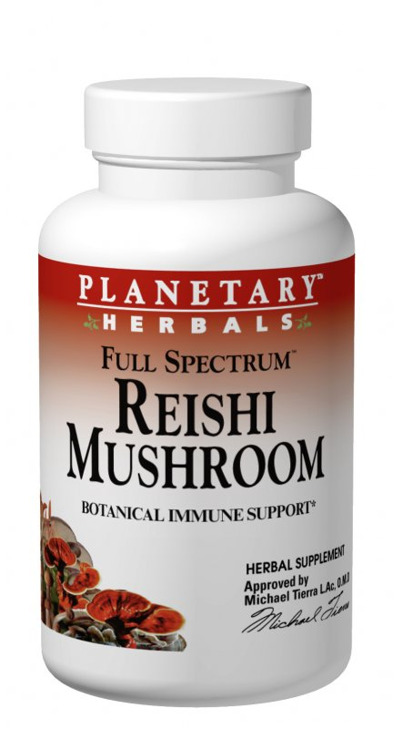PLANETARY HERBALS: Full Spectrum Reishi Mushroom 460 mg 50 tabs