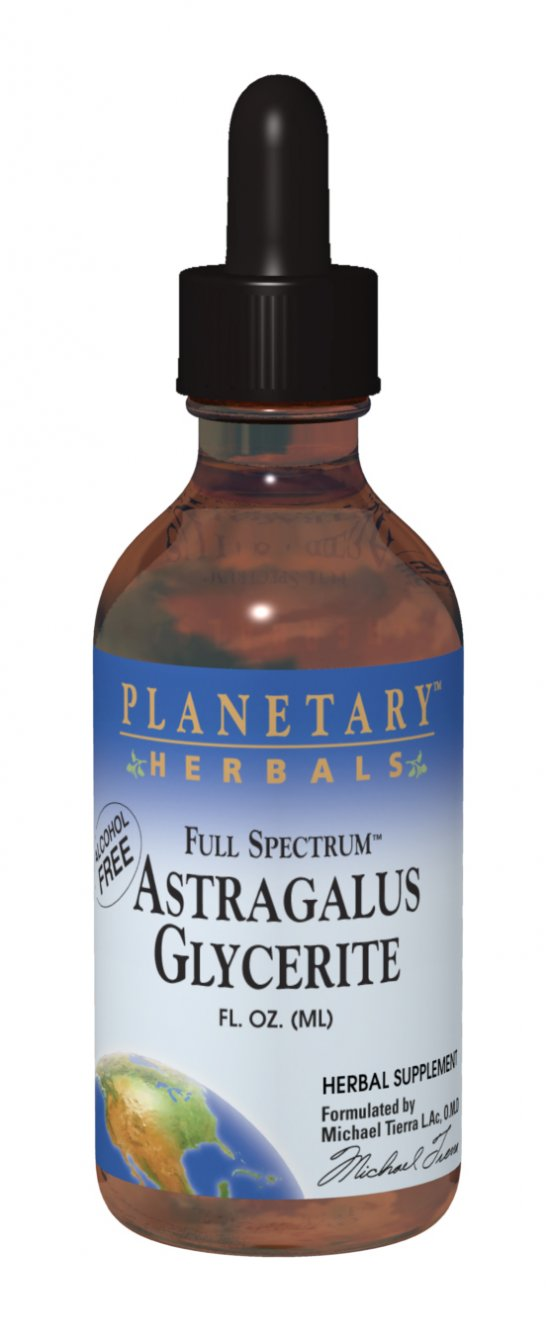 PLANETARY HERBALS: Full Spectrum Astragalus Glyc. 1 fl oz