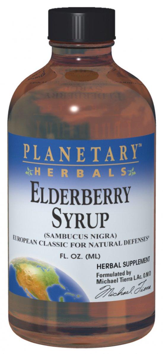 PLANETARY HERBALS: Elderberry Syrup 2 fl oz