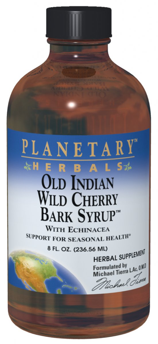 Old Indian Wild Cherry Bark Syrup, 4 fl oz.