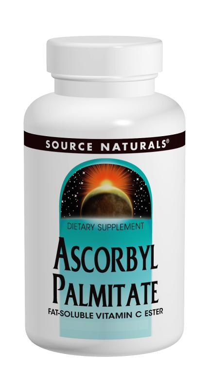 SOURCE NATURALS: Ascorbyl Palmitate (Vitamin C Ester) 45 tabs