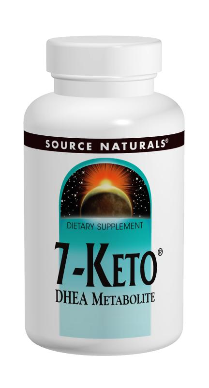 SOURCE NATURALS: 7-Keto DHEA Metabolite 50 mg 30 tabs