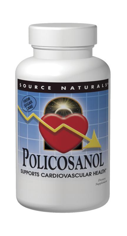 SOURCE NATURALS: Policosanol 10 mg 120 Tabs