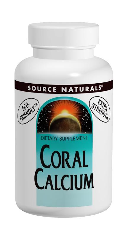 SOURCE NATURALS: Coral Calcium 1200 mg 30 tabs