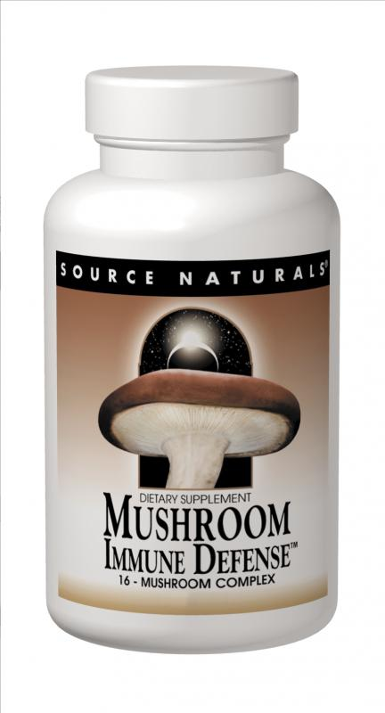 SOURCE NATURALS: Mushroom Immune Defense 120 tabs