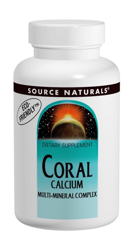 SOURCE NATURALS: Coral Calcium Multi-Mineral Complex 120 tabs