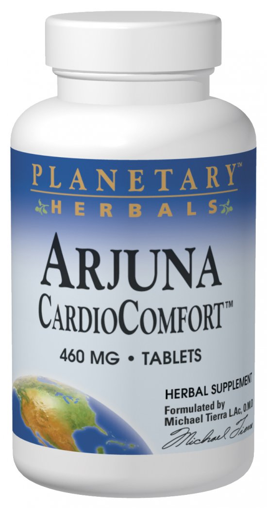 PLANETARY HERBALS: Arjuna CardioComfort 60 tabs