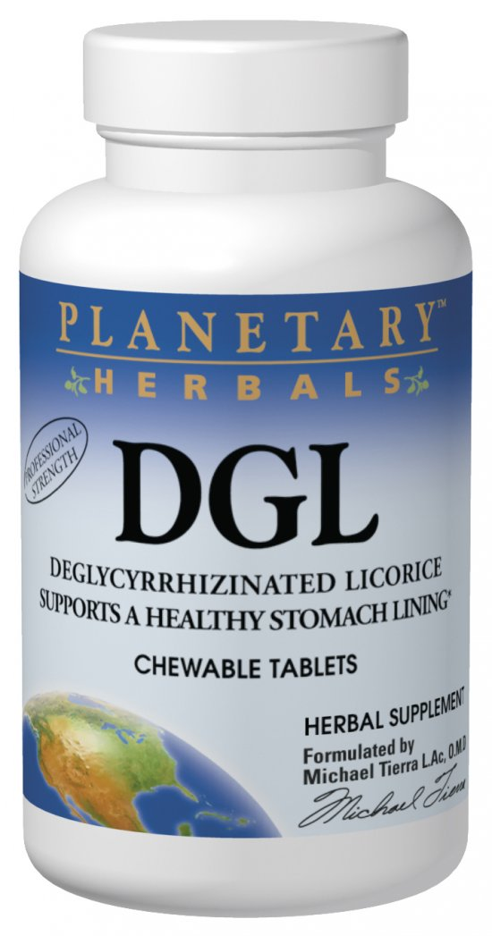 PLANETARY HERBALS: DGL Licorice 100 tabs
