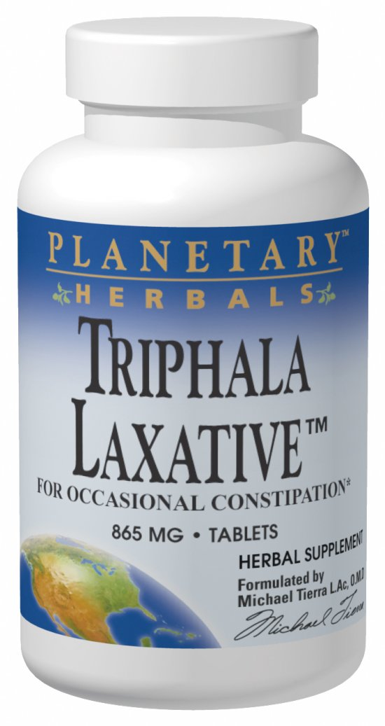 PLANETARY HERBALS: Triphala Laxative capsules 120 caps