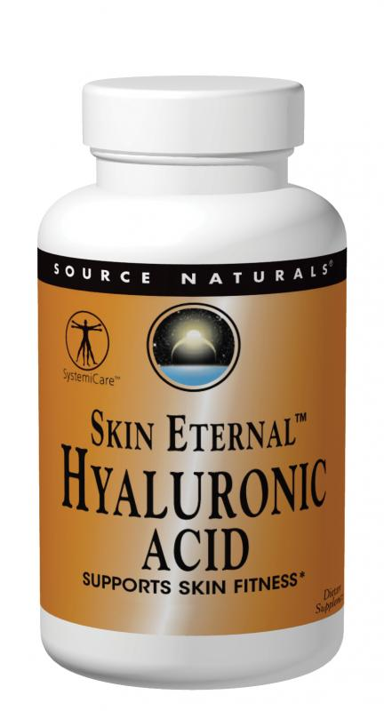 SOURCE NATURALS: Hyaluronic Acid 50 mg from BioCell Collagen II 60 tabs