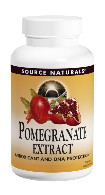 Pomegranate Extract 500mg tabs, 120 tabs