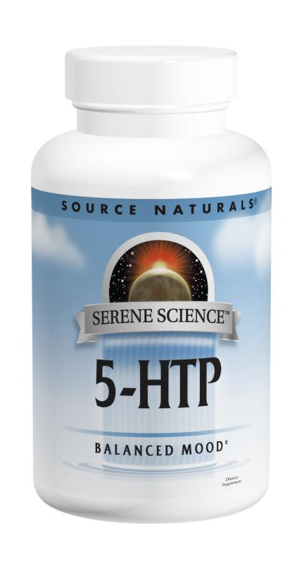 SOURCE NATURALS: 5-HTP 100MG 60 caps