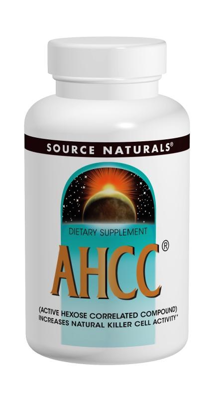 Source naturals: Ahcc complex 750mg 30 Caps