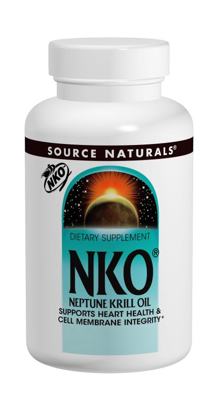 SOURCE NATURALS: Neptune Krill Oil NKO 1000mg 60 softgel