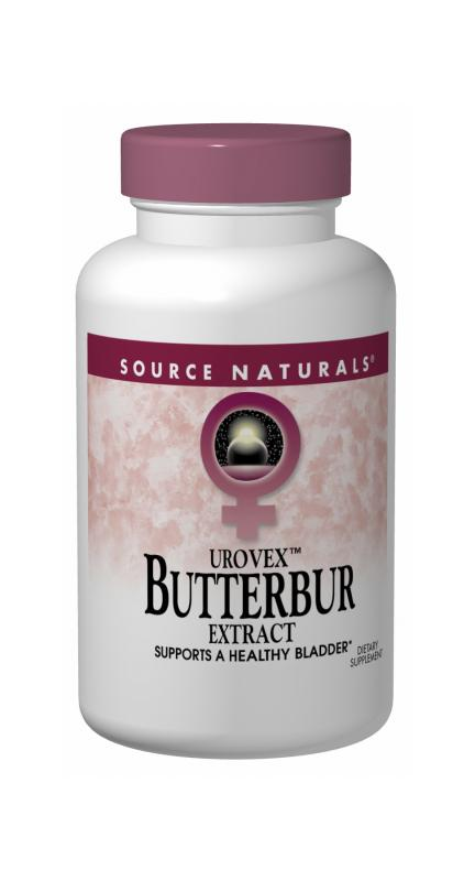 SOURCE NATURALS: Butterbur (Eternal Woman) 60 sg