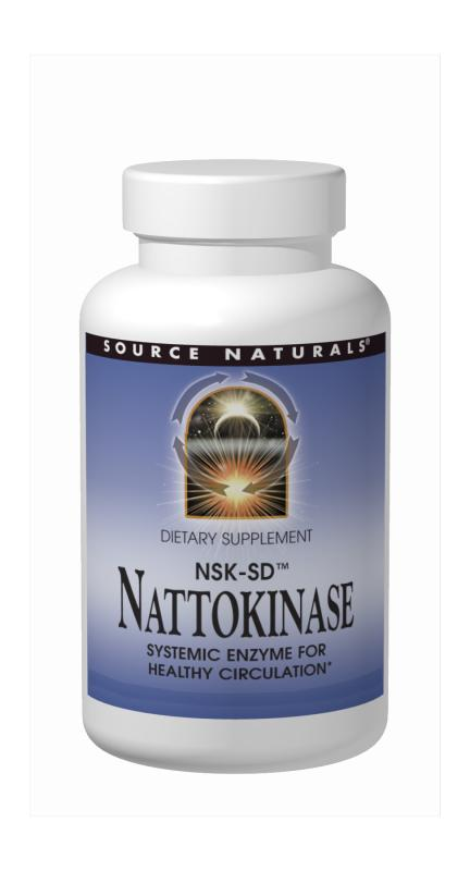 SOURCE NATURALS: Nattokinase 100mg 60 Caps