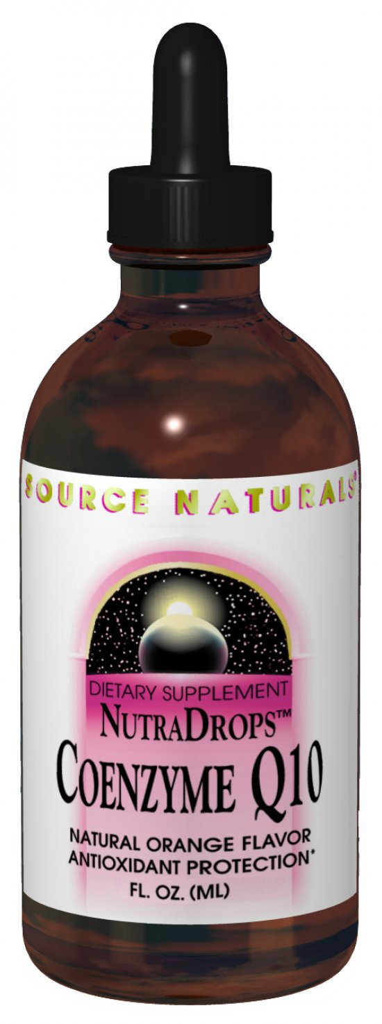 SOURCE NATURALS: CoQ10 NutraDrops 30MG 4 oz