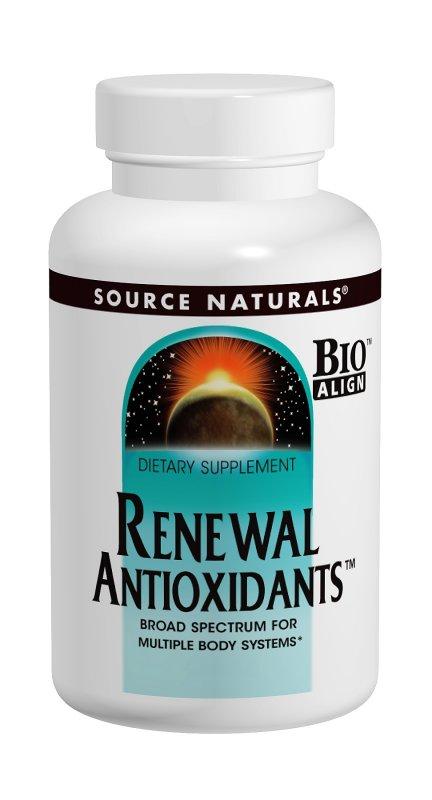 SOURCE NATURALS: RENEWAL ANTIOXIDANTS 120 tabs