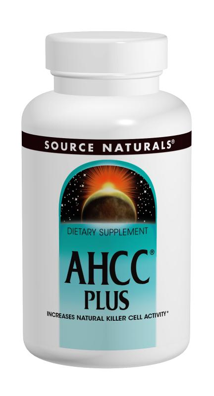 SOURCE NATURALS: AHCC PLUS 500mg 60 caps