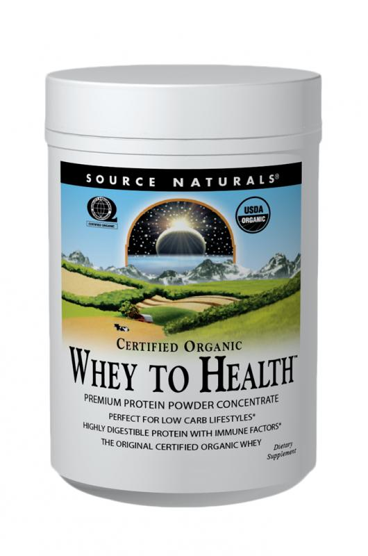 SOURCE NATURALS: Whey to Health 10 Ounces (283.75g)