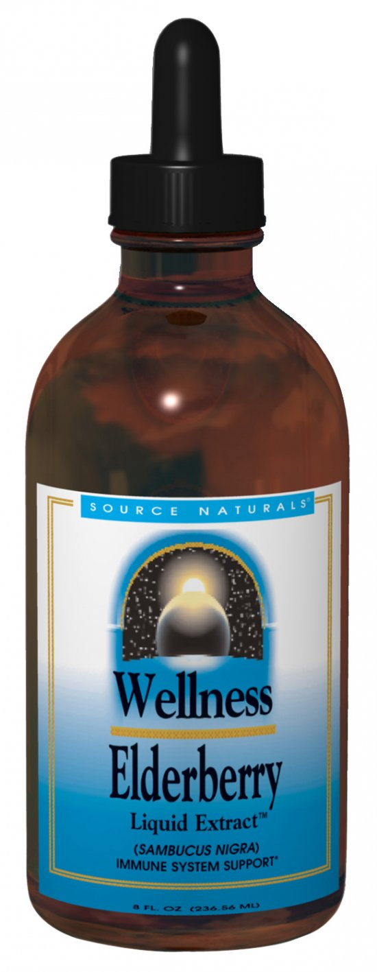 SOURCE NATURALS: Wellness Elderberry Liquid Extract 2 fl oz