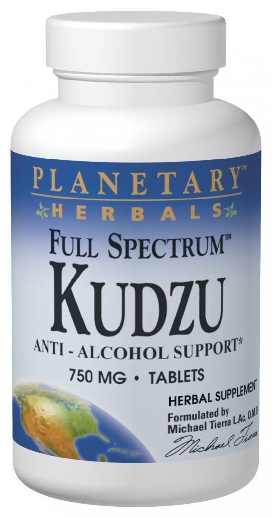 PLANETARY HERBALS: Kudzu Full Spectrum 60 tabs
