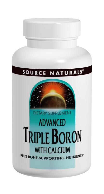 Source Naturals: Advanced Triple Boron with Calcium 120 Capsules