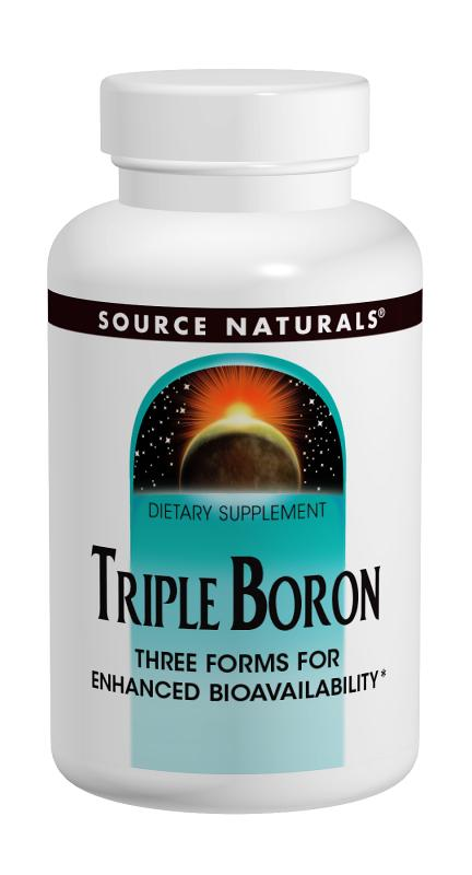 SOURCE NATURALS: Triple Boron 100 caps
