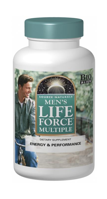 SOURCE NATURALS: Mens Life Force Multiple 90 Tabs