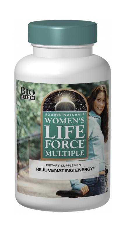 SOURCE NATURALS: Womens Life Force Multiple With Iron 90 Tabs