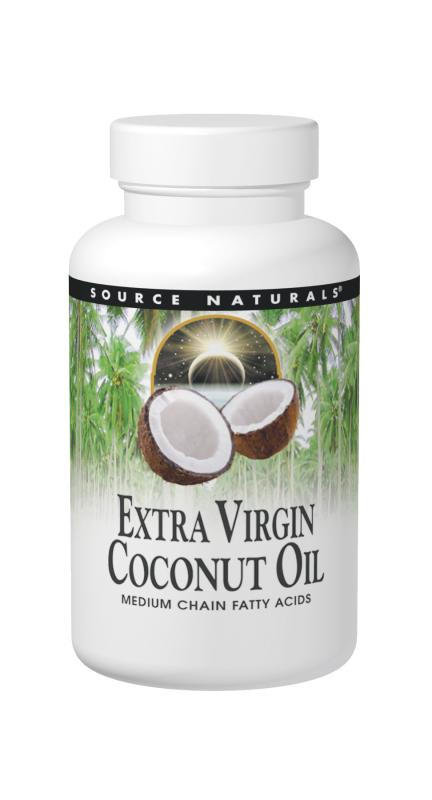 Extra Virgin Coconut Oil, 120 Softgels