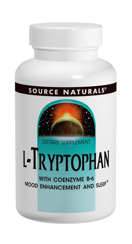 SOURCE NATURALS: L-Tryptophan With B-6 30 Tabs