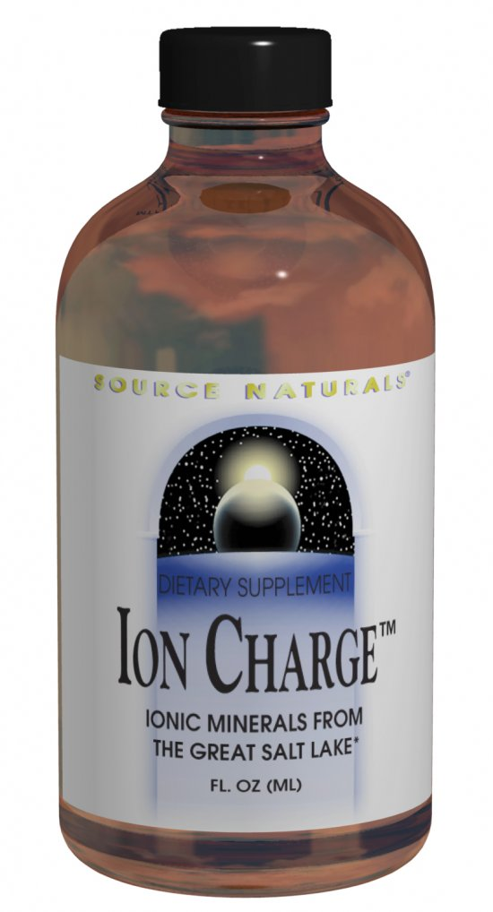 SOURCE NATURALS: Ionic Charge Trace Mineral Concentrate 8 fl oz
