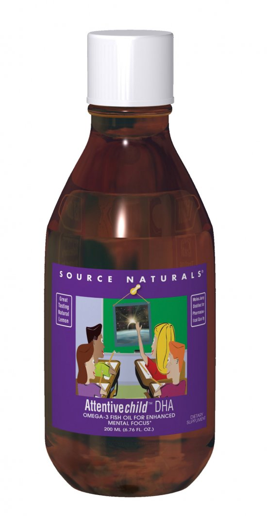 SOURCE NATURALS: Attentive Child DHA 200ml