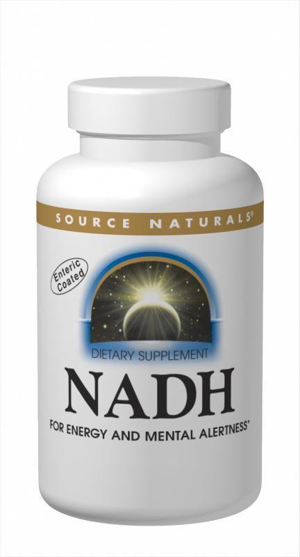 SOURCE NATURALS: NADH 5mg tab(blister packs placed in a bottle) 30 tabs