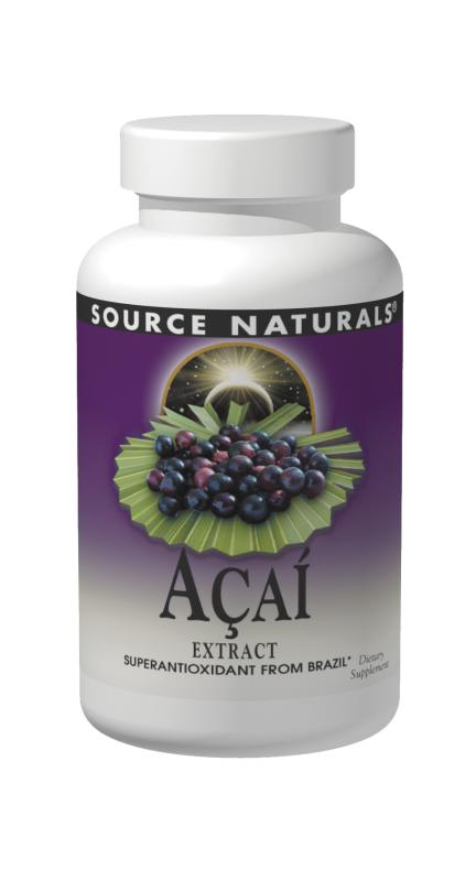 Acai Extract 500mg, 60 Capsules