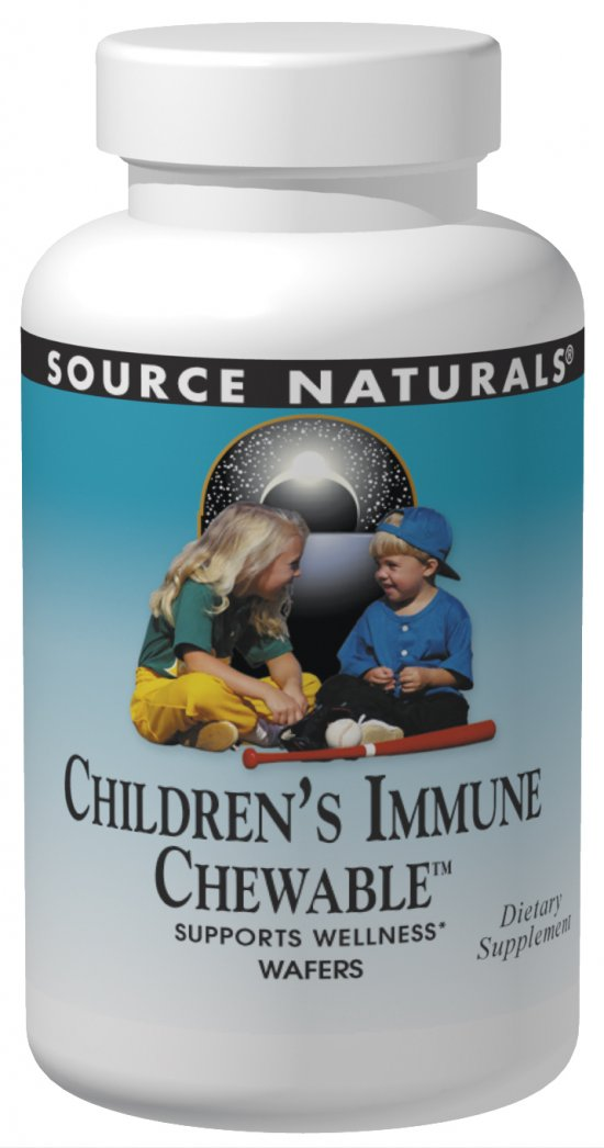SOURCE NATURALS: Children's Immune Chewable wafer 60 wafers
