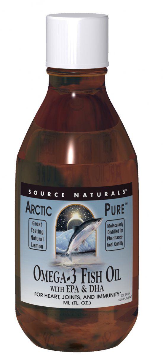 Source naturals: Arcticpure omega-3 fish oil with epa and dha 200 ml