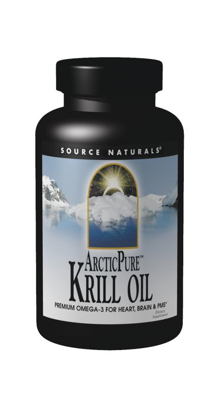 SOURCE NATURALS: ArcticPure Krill Oil Omega 3 60 sg