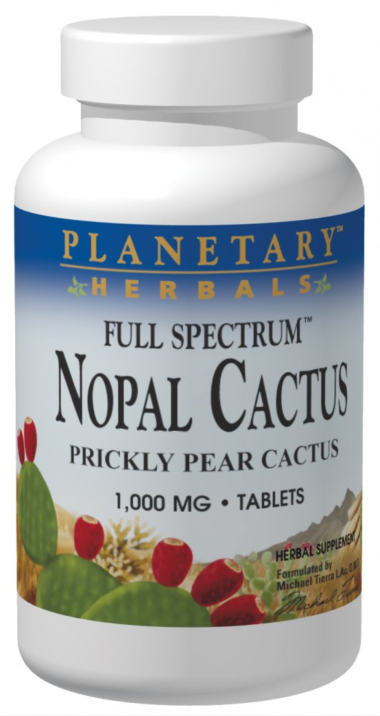 Full Spectrum Nopal Cactus 1000mg, 60 Tablets