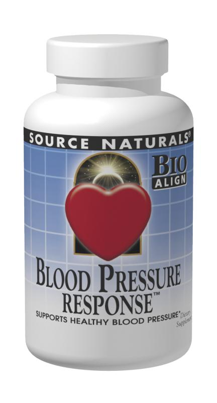 SOURCE NATURALS: Blood Pressure Response 120 tabs